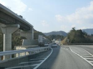 東広島バイパス建設中