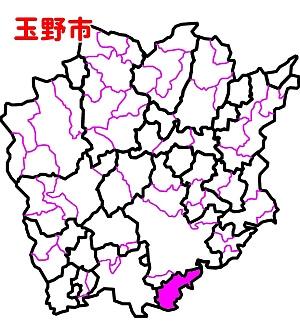 玉野市位置図