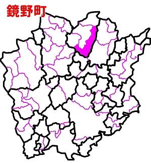 岡山県(鏡野町位置図